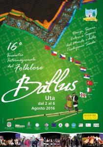 BALLUS – 16° INCONTRO INTERNAZIONALE DEL FOLKLORE dal 2 al 6 agosto 2016