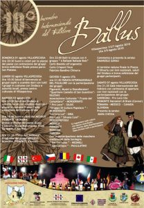 BALLUS – 10 ° Incontro Internazionale del Folklore