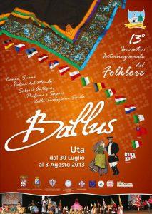 BALLUS – 13th INTERNATIONAL FOLK FESTIVAL from 31 july to 3 august 2013