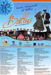 BALLUS – 11th INTERNATIONAL FOLK FESTIVAL from 2 to 6 august 2011