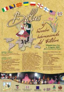 BALLUS – 9° INCONTRO INTERNAZIONALE DEL FOLKLORE dal 4 all' 8 Agosto 2009