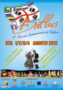 BALLUS – 12° FESTIVAL INTERNACIONAL DE FOLCLOR  del 1 al 4 de agosto de 2012