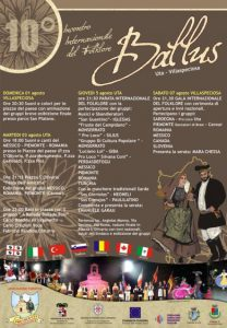 BALLUS – 10th INTERNATIONAL FOLK FESTIVAL from 1 to 7 august 2010