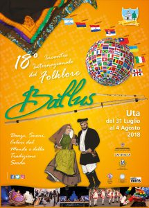 BALLUS – 18th INTERNATIONAL FOLK FESTIVAL from 31 july to 4 august 2018